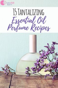 DIY Essential Oils Perfume Recipes yes please You can skip the headaches that come with conventional perfume and make your own essential oil perfume blends at home I bet. Perfume Glamour, Perfume Parfum, Perfume Hermes, Perfume Versace, Fragrance Parfum, Perfume Oils, Perfume Good Girl, Perfume Lady Million, Natural Beauty Products