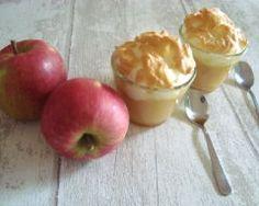 Compote meringuée aux pommes et aux poires