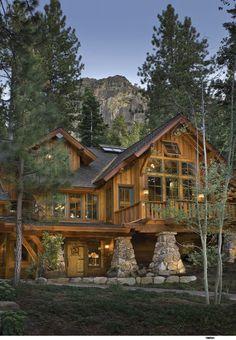 Big log home - Picmia