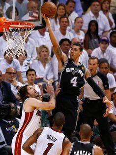 Danny Green San Antonio Spurs Miami Heat Mike Miller