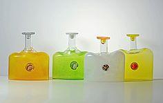 Markku Salo - Myyntikokoelmat: sarjatuotteet Glass Design, Design Art, Museum Collection, Modern Contemporary, Retro Vintage, Bottle, Aquarius, Finland, Glass Art