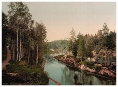 Telemarken Banda. #vintage postcard images