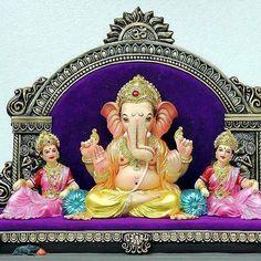 || Ganpati Bappa Morya || Shri Ganesh Images, Ganesh Chaturthi Images, Ganesha Pictures, Ganesh Idol, Ganesha Art, Ganesh Lord, Jai Ganesh, Indian Gods, Indian Art