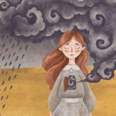 ☁ My own storm ☁  Наконец-то спустя почти три не самых приятных и апатичных месяца, я смогла вернуться и начать рисовать. Радует, что всё рано или поздно заканчивается. Или начинается.