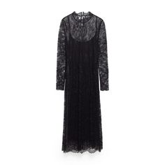 Lace Midi Dress, Zara $50