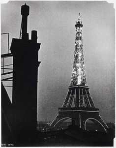 lse Bing, Eiffel Tower with Thermometer, 1934