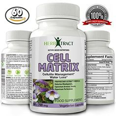 Amazon.com: Anti-Cellulite and Antioxidant Powerful Pills - Natural Blend of Herbs - Extreme Detox Complex - Cell Matrix - 60 Capsules: Health & Personal Care