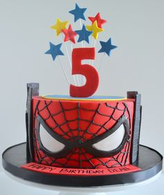 minion spiderman cake - Google Search