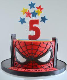 minion spiderman cake - Google Search