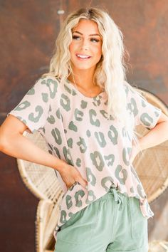 Our new Jasna Leopard Print Tunic is such a beauty, you're sure to find a way to wear it all season long! With its beautiful leopard print, slight v-neck, and super soft fabric, our top is a dream come true! Pair it with your favorite skinnies and fun sandals and you're sure to turn heads! Cute Casual Outfits, Jean Outfits, Fashion Boutique, Soft Fabrics, Plus Size Outfits, Love Fashion, Ruffle Blouse, Tunic Tops, Tanks
