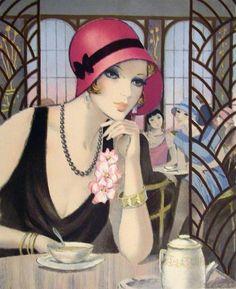 François Batet, 1921 ~ Art Déco painter | Tutt'Art@ | Pittura * Scultura * Poesia * Musica |