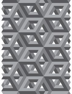 35 Ideas Design Pattern Art Optical Illusions For 2019 Optical Illusion Quilts, Art Optical, Optical Illusions, Geometry Pattern, 3d Pattern, Pattern Design, Cube Pattern, Retro Pattern, Geometric Quilt