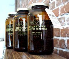 Stumptown Coffee & Jars: Love Stumptown Coffee... << Please, sir, can I have some more?