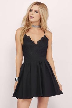 Shop Fit and Flare Skater Dresses at Tobi. Whether it's a white lace skater dress, black long sleeve or red skater dress - find it here. Next Dresses, Hoco Dresses, Dresses For Teens, Dance Dresses, Cute Dresses, Casual Dresses, Fashion Dresses, Summer Dresses, Formal Dresses