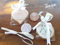 personalized props and cookies