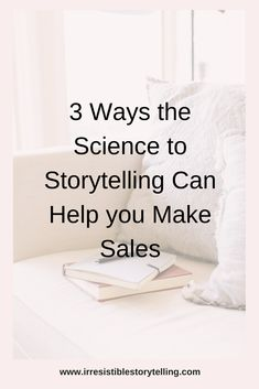 Did you know there's actually a science to storytelling for small businesses and solopreneurs that can help you make more sales. Click link to find out how!  #brandstorytelling #visualstorytelling #digitalstorytelling #businessstorytelling #startups #solopreneurs #bloggers #entrepreneurs