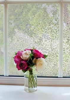 Toulon Decorative Window Film | Semi-Privacy ( Self-Adhesive) - Window Film World