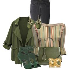St. Patrick's Day Shoes by debpat on Polyvore featuring Hermès, Uniqlo, Max Studio, Fendi, Kenneth Jay Lane and Alexis Bittar