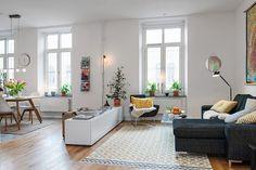 Estilo nórdico en espacios abiertos | Decorar tu casa es facilisimo.com