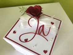 Stampin' UP! – Melli's StempelParadies Exploding Boxes, Stampin Up, Gift Wrapping, Valentines, Christmas Ornaments, Holiday Decor, Gifts, Ideas, Hide Money