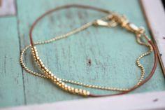 Bracelet perles délicate