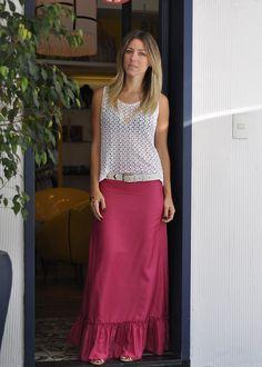 glam4you - nati vozza - look - pash - saia longa - tshirt - vestido longo - blog