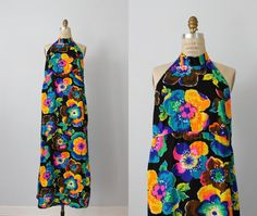 Vintage Maxi Dress / 1970s Maxi Dress / 70s by TheVintageMistress, $48.00