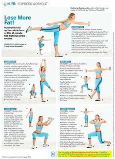 Fitness Magazine: Lose More Fat