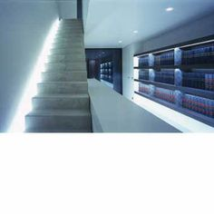 John Pawson _ Stair detail inside the Notary's Office Jean-Louis Sabbe, Blankenberge 2004 _