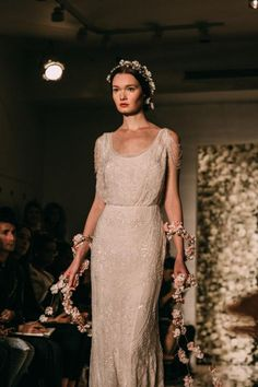 Reem Acra Bridal Fall 2015 / Wedding Style Inspiration / LANE love this dress it just need to be pure white