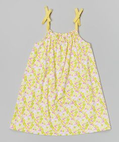 Loving this Banana Carley Ann Dress - Infant, Toddler & Girls on #zulily! #zulilyfinds