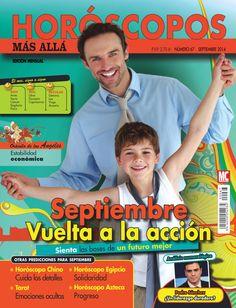 Revista #HORÓSCOPOS MÁS ALLÁ 66. #Septiembre, vuelta a la acción. Signos del mes: #aries, #tauro, #cáncer, #sagitario y #piscis.