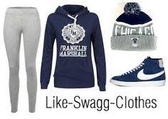 jogging gris, pull bleu marine, bonnet chicago bull bleu et gris, nike blazer bleu