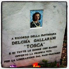 """Delcisa Gallarani, nome di battaglia """"Tosca"""": nasce nel 1905 a Bologna…"""