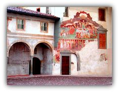 THE MACABRE DANCE – The Death triumph in Clusone, Italy - Meeting Benches
