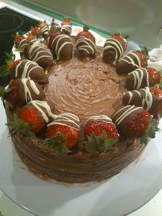 Chocolate & strawberry mayhem!