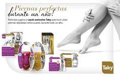 ¡Gana un pack exclusivo de productos Taky y luce unas piernas suaves y depiladas durante todo un año!