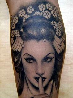 Geisha Portrait Tattoos Realistic Tattoo Flash Tatuajes    I'd like to suggest my personal website about gift ideas and tips. The site is http://ideiadepresente.com  You're welcome to visiting my website!    [BR]  Eu gostaria de sugerir meu site pessoal de dicas de presentes, o site � http://ideiadepresente.com