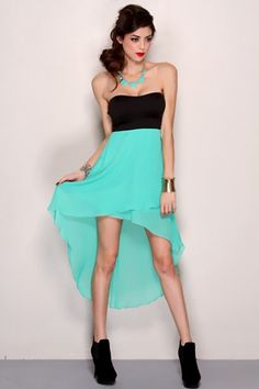 dresses teens high low | High Low Hem Party Dress