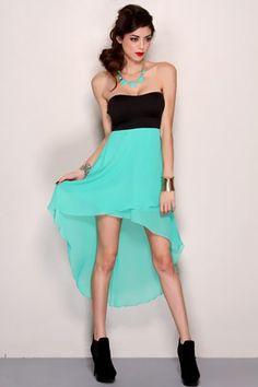 dresses teens high low | High Low Hem Party Dress