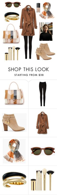 """""""Fall Fever"""" by crazy-vintage ❤ liked on Polyvore featuring 10 Crosby Derek Lam, Oasis, White House Black Market, Banana Republic, Chico's, Yves Saint Laurent, Michael Kors, tarte and NARS Cosmetics"""