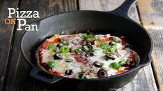 No Yeast, No Oven Pizza Recipe