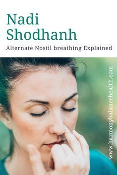Pranayama - Alternate Nostril Breathing explained