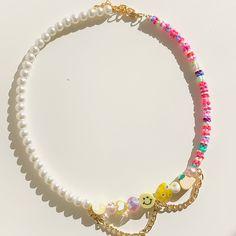 Handmade Wire Jewelry, Beaded Jewelry Designs, Funky Jewelry, Seed Bead Jewelry, Bead Jewellery, Opal Jewelry, Cute Jewelry, Diy Earrings Easy, Diy Necklace