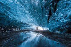 Caverna de Gelo, Islândia