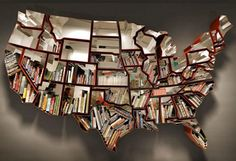 I don't think I'd use this as a bookshelf... maybe to show off things (photos etc) from each state we've visited...