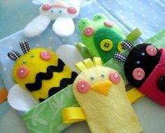 Spring Felt Finger Puppets | Craftsy