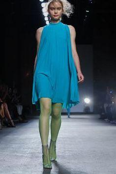 Tracy Reese Ready To Wear Spring Summer 2016 New York Live Fashion, Fashion Show, Runway Fashion, Latest Fashion, Tracy Reese, Spring Summer 2016, Ready To Wear, Fashion Photography, High Neck Dress
