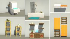 Capas Minecraft, Modern Minecraft Houses, Minecraft Plans, Minecraft Room, Minecraft City, Amazing Minecraft, Minecraft Decorations, Minecraft House Designs, Minecraft Construction