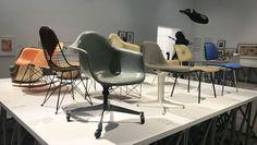 """Convaincus que le design ne s'arrête pas aux produits mais désigne aussi une façon de penser et d'agir, le couple de designers californiens Ray et Charles Eames n'a cessé d'inventer de nouveaux concepts de meubles accessibles au grand public. Jusqu'au 25 février, le musée Vitra près de Bâle célèbre l'oeuvre de ce duo qui, toute sa vie, a cru dans le """"pouvoir du design""""."""